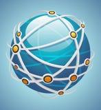 Εικονίδιο δικτύων Στοκ εικόνα με δικαίωμα ελεύθερης χρήσης