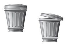 εικονίδιο δοχείων ανακύ&k Στοκ εικόνα με δικαίωμα ελεύθερης χρήσης