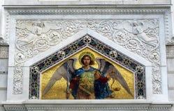 εικονίδιο εκκλησιών Βίβλων αγγέλου ορθόδοξο Στοκ εικόνες με δικαίωμα ελεύθερης χρήσης