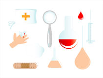 εικονίδιο ιατρικό Στοκ Φωτογραφία