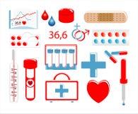 εικονίδιο ιατρικό Στοκ Εικόνες
