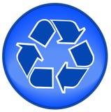 εικονίδιο κουμπιών ανακύ Στοκ Φωτογραφία