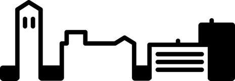Εικονίδιο οριζόντων του Αν Άρμπορ απεικόνιση αποθεμάτων