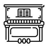 Εικονίδιο πιάνων ελεύθερη απεικόνιση δικαιώματος