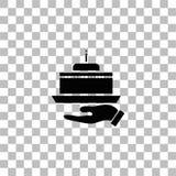 Εικονίδιο πιτών επίπεδο διανυσματική απεικόνιση