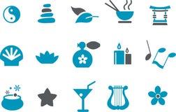 εικονίδιο που τίθεται zen απεικόνιση αποθεμάτων
