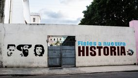 Εικονίδιο των ηρώων Ernesto Che Guevara, Cienfuegos και Fidel CAS στοκ εικόνα με δικαίωμα ελεύθερης χρήσης