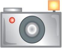 εικονίδιο φωτογραφικών μηχανών Στοκ εικόνες με δικαίωμα ελεύθερης χρήσης