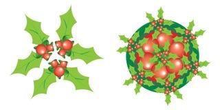 εικονίδιο Χριστουγέννω&n Στοκ εικόνες με δικαίωμα ελεύθερης χρήσης