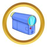 Εικονίδιο Camcorder ελεύθερη απεικόνιση δικαιώματος