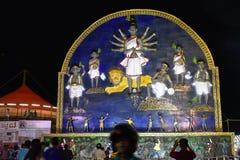 Εικονίδιο Durga Στοκ Εικόνες
