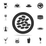 εικονίδιο gnocchi Λεπτομερές σύνολο ιταλικών απεικονίσεων τροφίμων Γραφικό εικονίδιο σχεδίου εξαιρετικής ποιότητας Ένα από τα εικ διανυσματική απεικόνιση