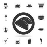 εικονίδιο Ilyin τροφίμων Λεπτομερές σύνολο ιταλικών απεικονίσεων τροφίμων Γραφικό εικονίδιο σχεδίου εξαιρετικής ποιότητας Ένα από απεικόνιση αποθεμάτων