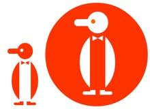 εικονίδιο penguin Στοκ Εικόνα