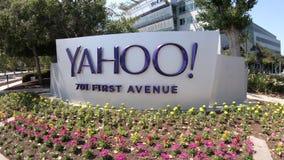 Εικονίδιο Sunnyvale του Yahoo απόθεμα βίντεο