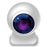 εικονίδιο webcam Στοκ Εικόνες
