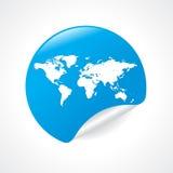εικονίδιο worldmap απεικόνιση αποθεμάτων