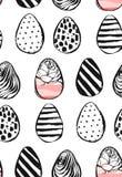 Εικονίδια αυγών Πάσχας επίσης corel σύρετε το διάνυσμα απεικόνισης Αυγά Πάσχας για το σχέδιο διακοπών Πάσχας στο άσπρο υπόβαθρο Στοκ φωτογραφίες με δικαίωμα ελεύθερης χρήσης