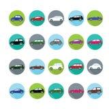 εικονίδια αυτοκινήτων π&omi Ελεύθερη απεικόνιση δικαιώματος