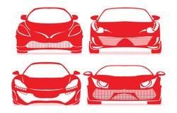Εικονίδια αυτοκινήτων Στοκ Εικόνες