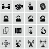 Εικονίδια Διαδικτύου και δικτύων καθορισμένα Στοκ φωτογραφίες με δικαίωμα ελεύθερης χρήσης