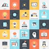 Εικονίδια εκπαίδευσης Στοκ εικόνες με δικαίωμα ελεύθερης χρήσης