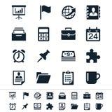 Εικονίδια επιχειρήσεων και γραφείων Στοκ φωτογραφία με δικαίωμα ελεύθερης χρήσης