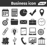 Εικονίδια επιχειρήσεων και χρηματοδότησης καθορισμένα στοκ φωτογραφία με δικαίωμα ελεύθερης χρήσης