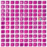 Εικονίδια Ιστού που τίθενται Μέσα Infographics και σχέδιο επικοινωνίας elem Στοκ εικόνες με δικαίωμα ελεύθερης χρήσης