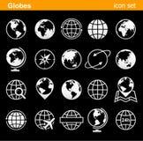 Εικονίδια και σύμβολα σφαιρών - απεικόνιση Στοκ φωτογραφία με δικαίωμα ελεύθερης χρήσης