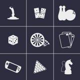 εικονίδια παιχνιδιών Στοκ φωτογραφία με δικαίωμα ελεύθερης χρήσης