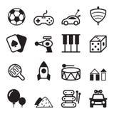 Εικονίδια παιχνιδιών Στοκ εικόνες με δικαίωμα ελεύθερης χρήσης