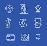 εικονίδια που τίθενται &epsi επίσης corel σύρετε το διάνυσμα απεικόνισης Στοκ εικόνα με δικαίωμα ελεύθερης χρήσης