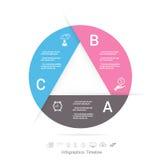 Εικονίδια προτύπων και μάρκετινγκ σχεδίου Infographic, επιχείρηση concep Στοκ Εικόνα