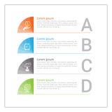 Εικονίδια προτύπων και μάρκετινγκ σχεδίου Infographic, επιχείρηση concep Στοκ εικόνα με δικαίωμα ελεύθερης χρήσης
