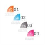 Εικονίδια προτύπων και μάρκετινγκ σχεδίου Infographic, επιχείρηση concep Στοκ φωτογραφίες με δικαίωμα ελεύθερης χρήσης