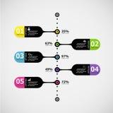 Εικονίδια προτύπων και μάρκετινγκ σχεδίου Infographic Στοκ εικόνες με δικαίωμα ελεύθερης χρήσης