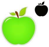 Εικονίδια της Apple Στοκ Εικόνα
