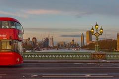 Εικονίδια του Λονδίνου Στοκ Εικόνα