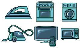 Εικονίδια των συσκευών Στοκ εικόνες με δικαίωμα ελεύθερης χρήσης