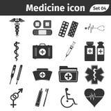 εικονίδια υγείας προσ&omicr στοκ φωτογραφία με δικαίωμα ελεύθερης χρήσης