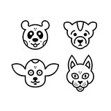 Εικονίδια animals2 Στοκ φωτογραφίες με δικαίωμα ελεύθερης χρήσης