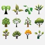 Εικονίδιο δέντρων Διανυσματική απεικόνιση