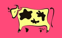 Εικονίδιο αγελάδων απεικόνιση αποθεμάτων