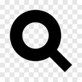 Εικονίδιο αναζήτησης - διανυσματικό εικονικό σχέδιο Στοκ φωτογραφία με δικαίωμα ελεύθερης χρήσης