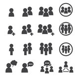 Εικονίδιο ανθρώπων Στοκ φωτογραφία με δικαίωμα ελεύθερης χρήσης