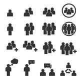 Εικονίδιο ανθρώπων Στοκ Εικόνες