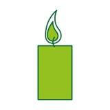 Εικονίδιο αρώματος therapy candle spa ελεύθερη απεικόνιση δικαιώματος