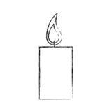 Εικονίδιο αρώματος therapy candle spa απεικόνιση αποθεμάτων