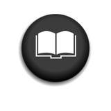 Εικονίδιο βιβλίων Στοκ φωτογραφία με δικαίωμα ελεύθερης χρήσης